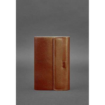 Шкіряний блокнот софт-бук світло-коричневий Софт-бук для ділових чоловіків і жінок Блокнот люкс класу