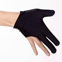 Перчатки для бильярда черные (пара)