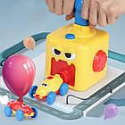 ОПТ Аэромобиль balloon car машинка з кулькою Аеродинаміці Reaction FORCE Principle Інтерактивна іграшка, фото 3