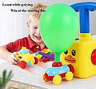 ОПТ Аэромобиль balloon car машинка з кулькою Аеродинаміці Reaction FORCE Principle Інтерактивна іграшка, фото 4