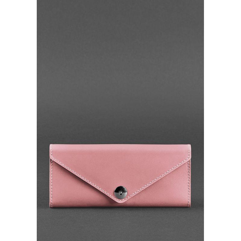 Жіночий шкіряний гаманець Керрі 1.0 рожевий