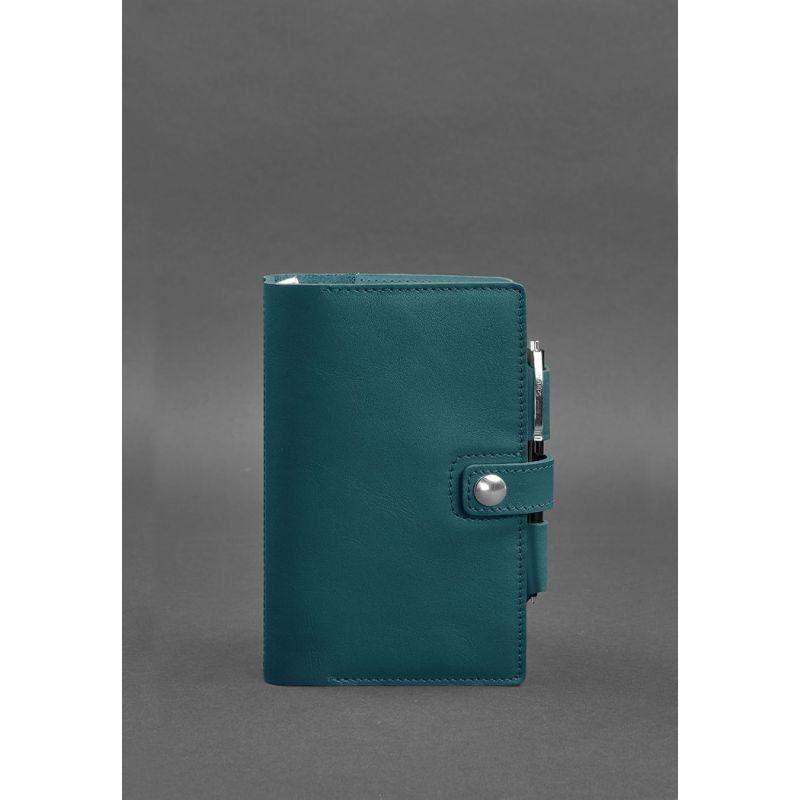 Кожаный блокнот зеленый Блокнот люкс класса для мужчин и женщин Блокнот софт-бук из натуральной кожи