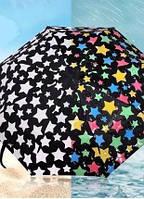 Зонт, меняющий цвет при намокании