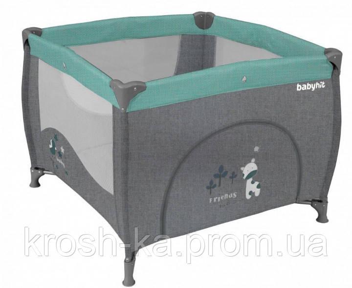 Манеж детский Baby Hit grey Китай H51-5