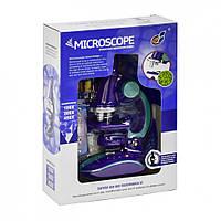 Мікроскоп іграшковий З 2127 з аксесуарами (Фіолетовий)