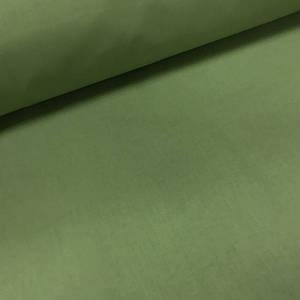 Хлопковая ткань однотонная темно-оливковая