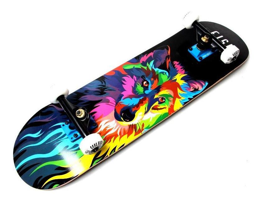 """Дерев'яний Скейтборд від Fish Skateboard """"Wolf"""""""