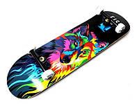 """Дерев'яний Скейтборд від Fish Skateboard """"Wolf"""", фото 1"""