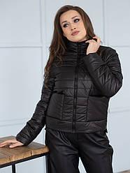 Куртка женская весна Irvik ZSK152 черная