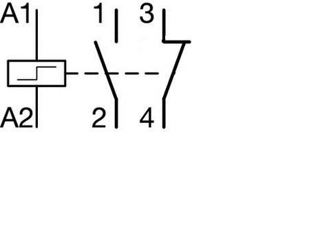 Імпульсне реле 230В/16А, 1НО+1НЗ, 1м, (Hager), фото 2