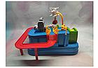 ОПТ Развивающая головоломка для детей механический трек Rescue city JIA YU TOY игрушка с рычагами и кнопками, фото 6