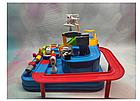 ОПТ Развивающая головоломка для детей механический трек Rescue city JIA YU TOY игрушка с рычагами и кнопками, фото 5