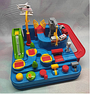ОПТ Развивающая головоломка для детей механический трек Rescue city JIA YU TOY игрушка с рычагами и кнопками, фото 9