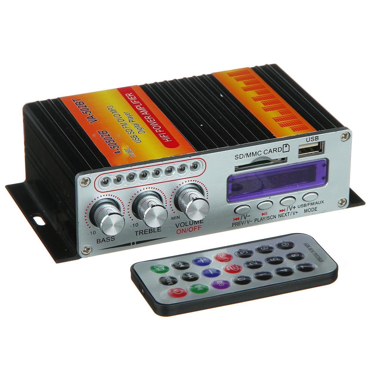 Підсилювач звуку SONI (VT 502 BT)