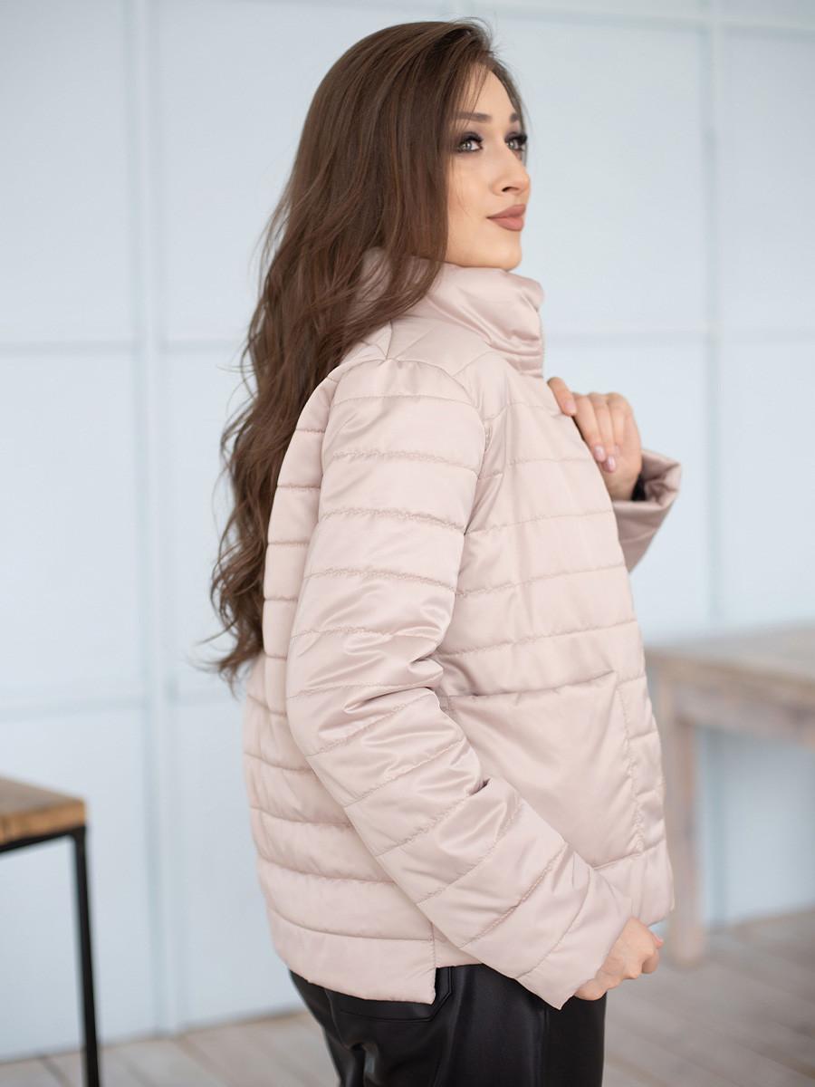 Куртка женская весна Irvik ZSK160 бежевая