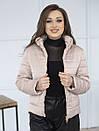 Куртка женская весна Irvik ZSK160 бежевая, фото 2