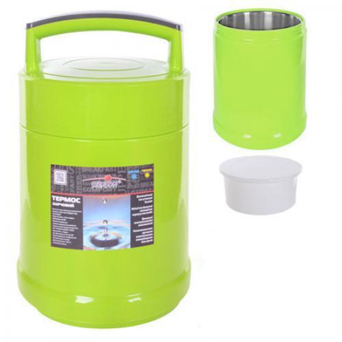 Термос пищевой STENSON 1.8 л (C-138) Зеленый