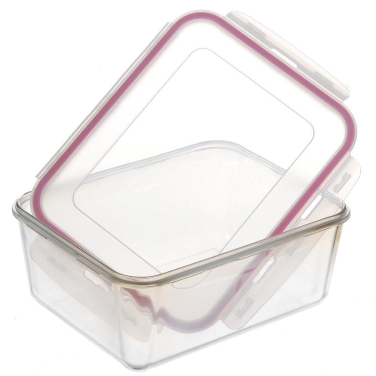 Набор стеклянных контейнеров с крышкой A-PLUS 4 шт (1080) Прямоугольных