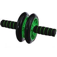 Ролик для преса AB Wheel (0872) Зелений
