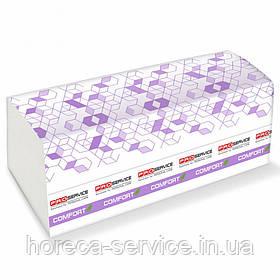 Паперові рушники листові Pro-Service Comfort Eco V-складання двошарові 160 шт.