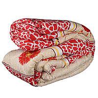 Одеяло полуторное Constancy 145 х 205 (29288) Красный принт жирафа