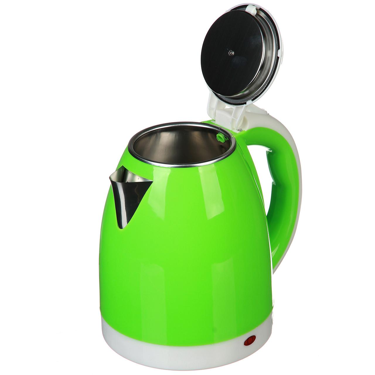 Электрочайник Domotec 2.0 л (MS-5025) Зеленый