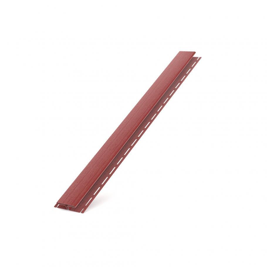 H планка BRYZA для софіта червона з'єднувальна планка (з'єднувальний профіль) RALL 3011