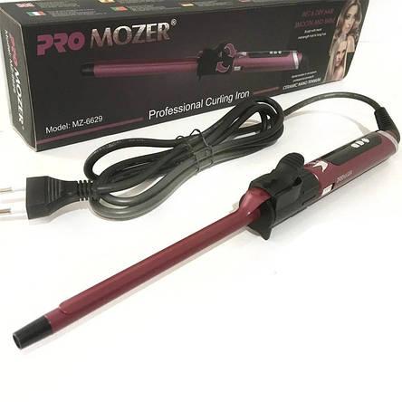 Плойка для волосся Pro Mozer MZ-6629, 9мм, фото 2