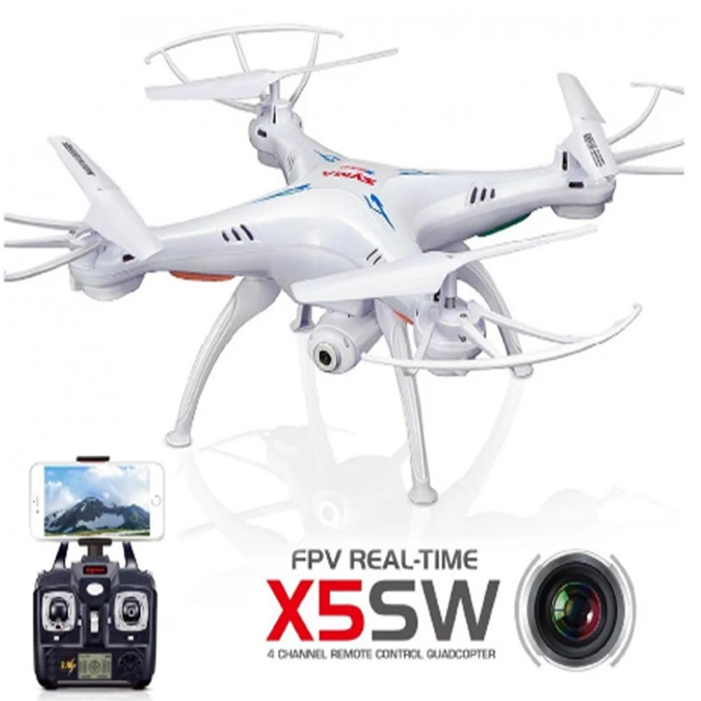 Квадрокоптер дрон з камерою і wi-fi X 5 SW