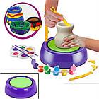 ОПТ Набір зроби сам з глини Pottery Wheel дитячий гончарний набір для дитячої творчості, фото 2