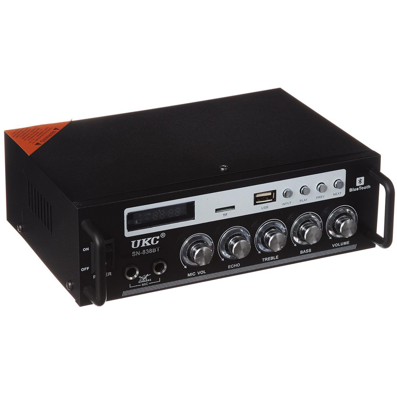 Усилитель звука UKC (SN-838 Bт)