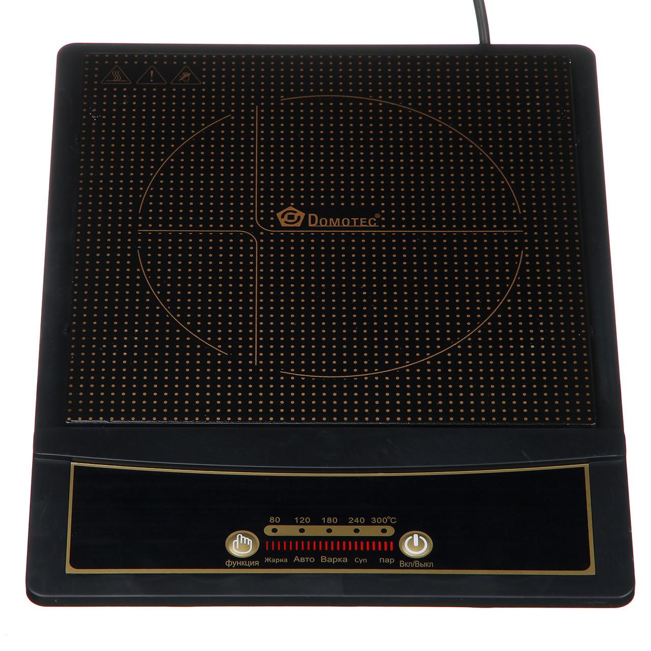Індукційна електроплитка Domotec (MS 5832)