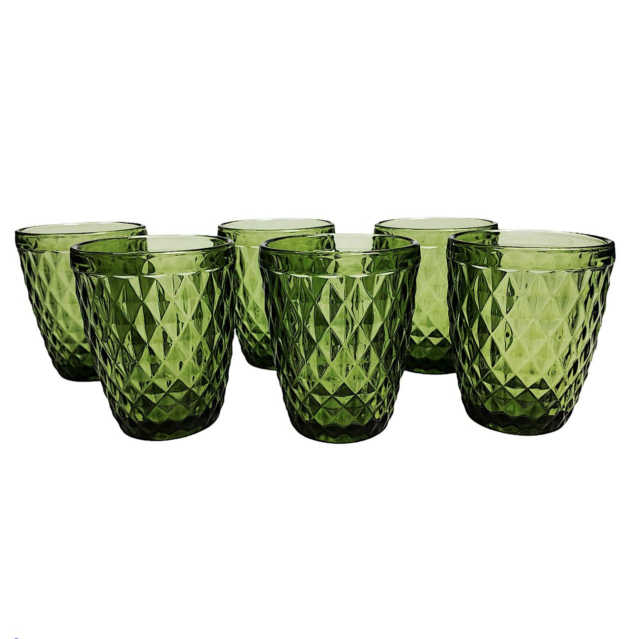 Набор стаканов Garbo Glassware 6 шт (5209DZS) Green