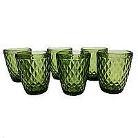 Набір склянок Garbo Glassware 6 шт (5209DZS) Green, фото 1