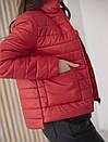 Куртка женская весна ZSK150 красный, фото 2