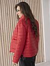 Куртка женская весна ZSK150 красный, фото 3