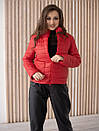 Куртка женская весна ZSK150 красный, фото 4
