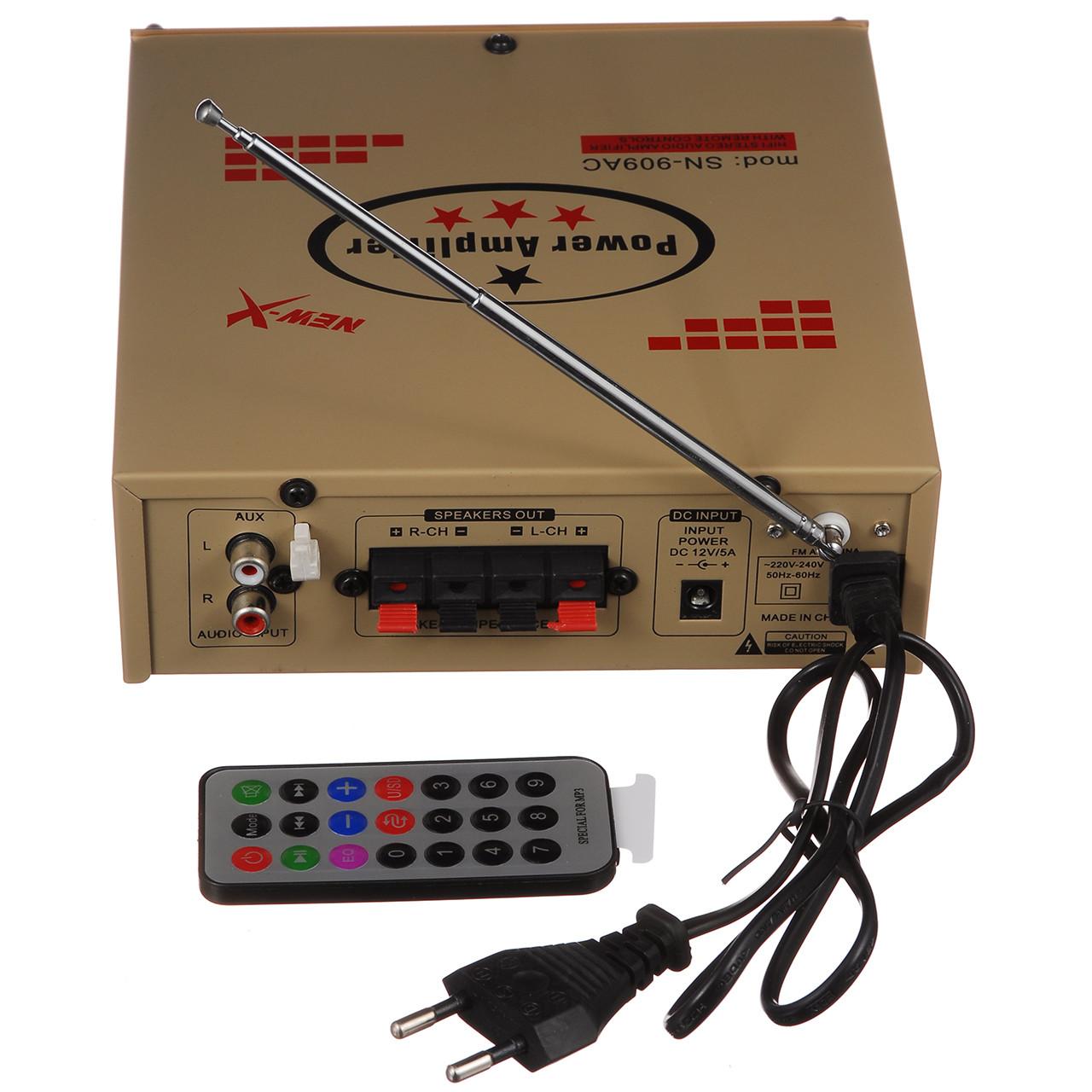 Підсилювач звуку UKC (SN-909/004 BT)