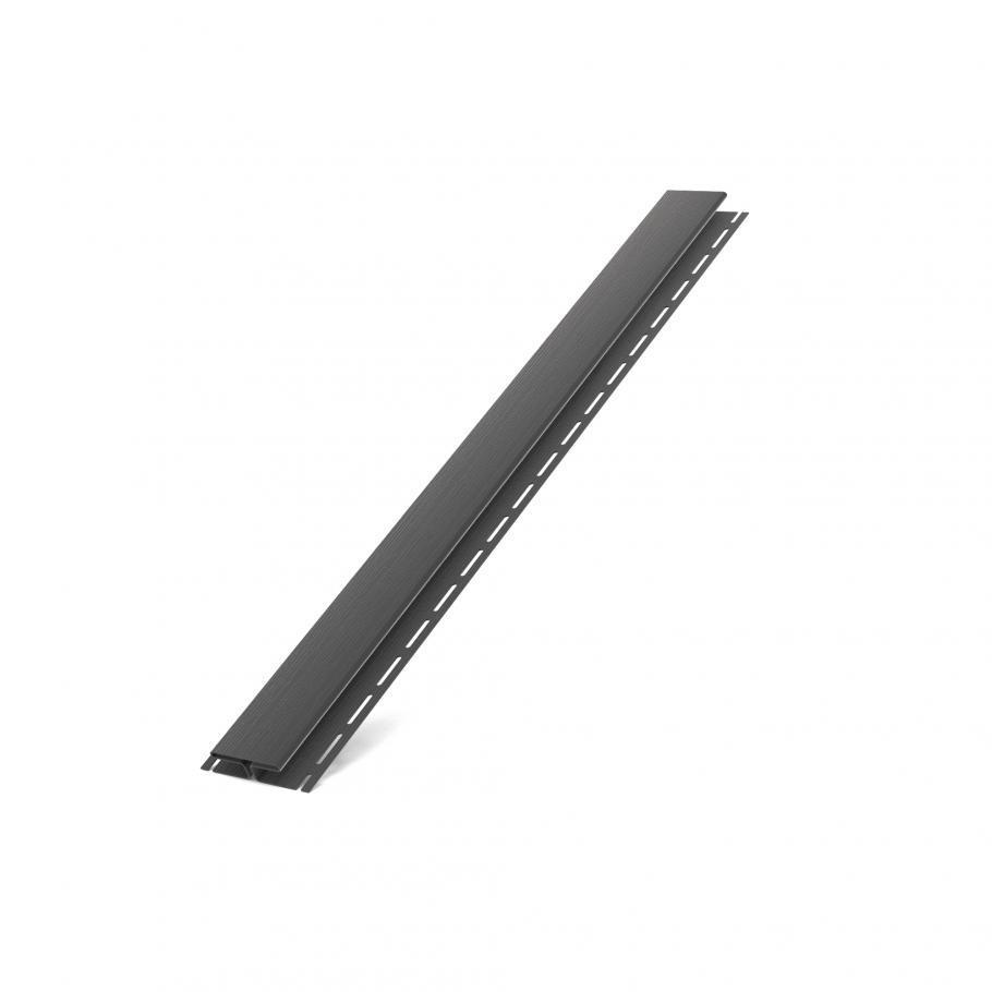 H планка BRYZA для софіта графітова з'єднувальна планка (з'єднувальний профіль) RALL 7021