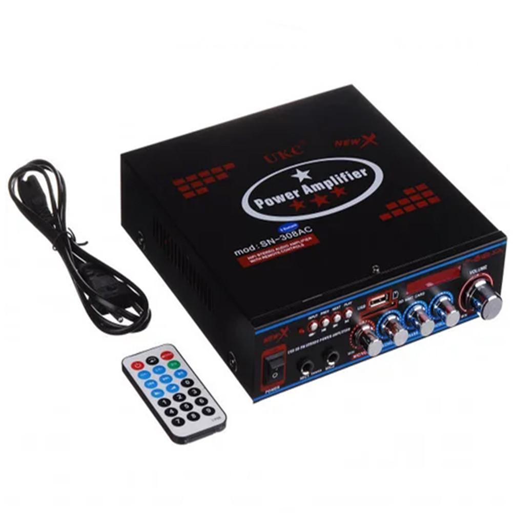 Підсилювач звуку UKC AMP AV 316 BT