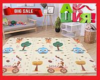Детский раскладывающийся коврик Folding baby mat 180х200см №4 .Детский развивающий термоковрик.