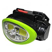 Налобний ліхтар з лазером Headlights BL - 0520 СОВ