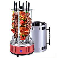 Электрошашлычница Domotec 7783 BBQ RED