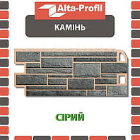 ОПТ - Фасадная панель АЛЬТА ПРОФИЛЬ Камень Серый (0,547 м2), фото 1