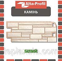 ОПТ - Фасадна панель АЛЬТА-ПРОФІЛЬ Камінь Білий (0,547 м2)