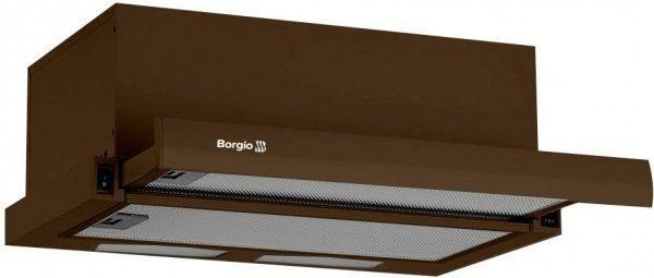 Вытяжка телескопическая Borgio SLIM(2M) 50 Brown