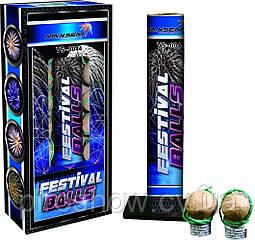 Миномет Festival Balls 12 выстрелов Фестивальные шары VS-0044 Maxsem