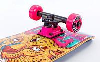 "Скейтборд деревянный от Fish Skateboard ""Girl and Tiger"", фото 1"