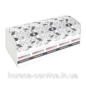 Паперові рушники листові Pro-Service Premium V-складання целюлоза білі двошарові 160 шт.