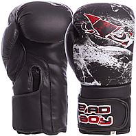 Боксерские перчатки Bad Boy Spider VL-6602-12 FLEX  Черно-белый